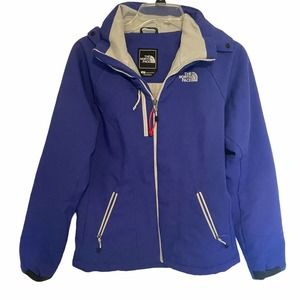 The North Face Purple Primaloft Zip Jacket Size S
